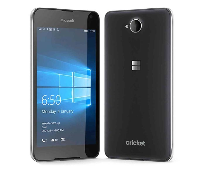 Cricket Lumia 650 Launching on May 6