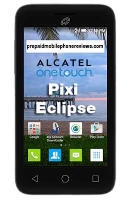 Straight Talk Alcatel OneTouch Pixi Eclipse available at Walmart for $19.88
