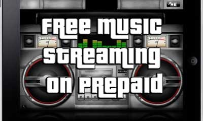 Prepaid Plans With Free Music Streaming