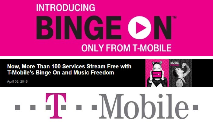 T-Mobile Adds 16 New Services to Binge On and Music Freedom