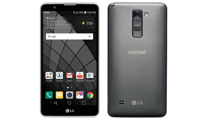 Cricket LG Stylo 2 Phablet Launching May 13 for $169.99
