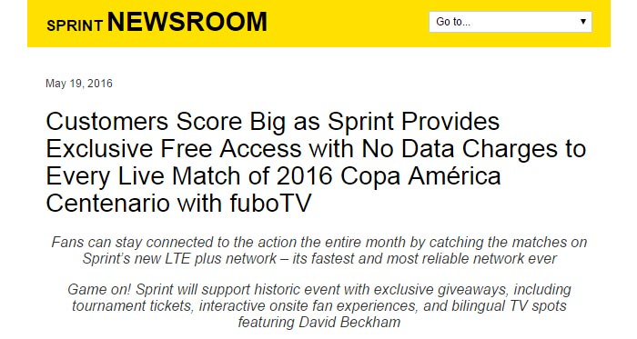 Free Streaming Of Copa América On Boost And Virgin Mobile