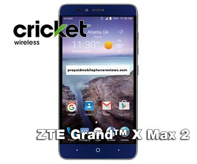 Cricket Wireless Grand X Max 2 With Dual Cameras Available For $199.99