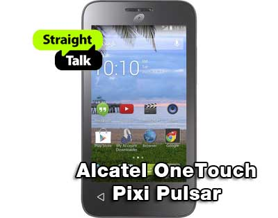 Straight Talk Alcatel OneTouch Pixi Pulsar Available For $19.99