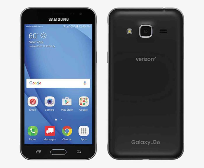 Verizon Prepaid Samsung Galaxy J3 (2016) Now Available For $109.99