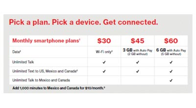 Verizon Prepaid Adds Calling to Mexico and Canada, Makes 1GB