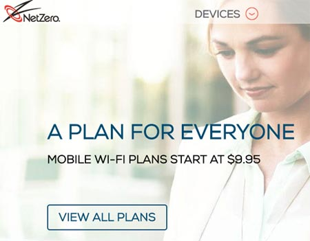 NetZero Discontinued Mobile Phone Service