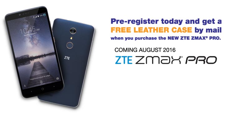 MetroPCS ZTE ZMAX Pro Phablet Launching August 1 For $99
