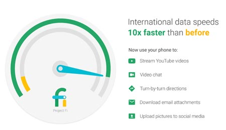 Project Fi Increases International Data Speeds 10 To 20 Times, Offers $150 Off Nexus 6P For A Week