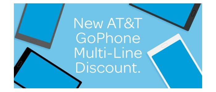 AT&T Offers Multiple Line Discounts On GoPhone
