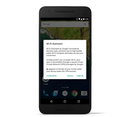 Nexus Devices Get Access to WiFi Assistant Technology From Project Fi