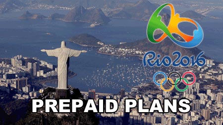 Prepaid Plans for the Rio Olympics 2016 – The Definitive Guide