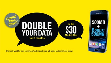 H2O Offers Double Data Promotion For Three Months On $30 Plan For New Customers