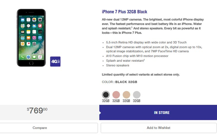 MetroPCS iPhone 7 and iPhone 7 Plus Launching In Limited Quantities At First