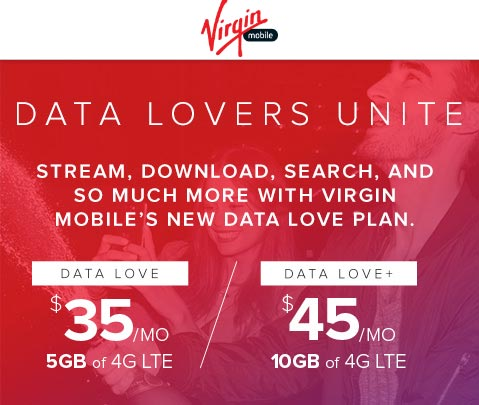 New Virgin Mobile Plans Offer More Data At Lower Monthly Rates