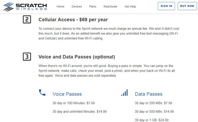 New Scratch Wireless Website Shows Restructured Service Options