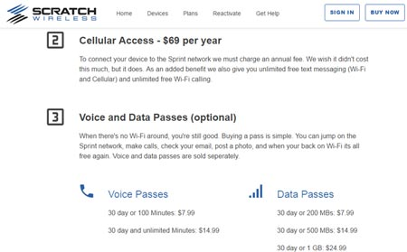 New Scratch Wireless Website Shows Changed Service Options