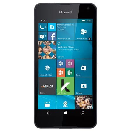 Free Microsoft Lumia 650 When Switching To Cricket