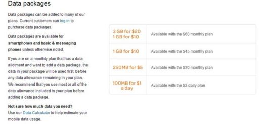 GoPhone Data Packages Now Include More Data