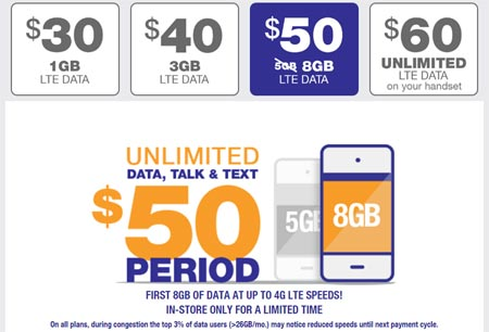 MetroPCS Increases Data on $50 Plan to 8GB, Adds New Lines for $30 for a Limited Time