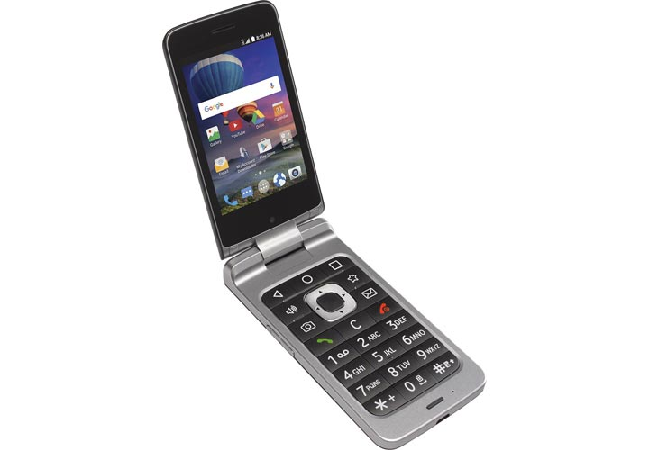 bons tracfone zte cymbal t lte flip phone posted this deal