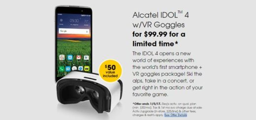 Cricket Holiday Deals offer LG X Power for $9.99, Alcatel Idol 4 With VR Goggles for $99.99
