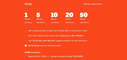 Karma Adds New $9.99/1GB Plan, Lowers the Cost of 20GB Plan from $140 to $99.99