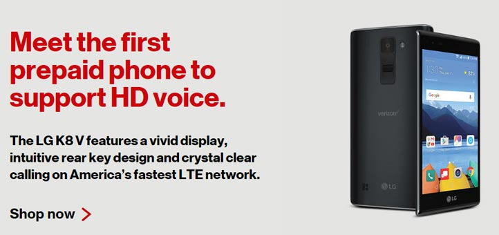 verizon launches lg k8 v first prepaid phone with hd voice support prepaid mobile phone reviews. Black Bedroom Furniture Sets. Home Design Ideas