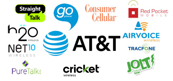 AT&T MVNOs Prepaid Monthly Plans