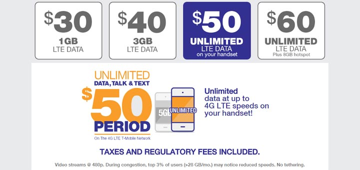 Metropcs 50 Plan Now Includes Unlimited Lte Data With Optimized Video