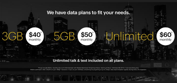Sprint Prepaid New Plans Now Include 60 Unlimited 4g Lte