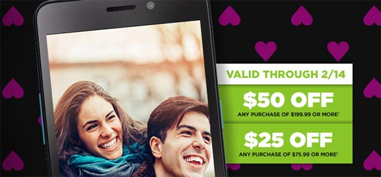 Valentine's Day Deals On Simple Mobile and Tracfone Offer Discounts on Service and Purchases