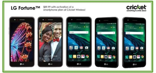 Cricket LG Fortune Launches For $89.99