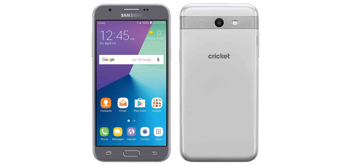 Cricket Wireless Samsung Galaxy Amp Prime 2 Launches For