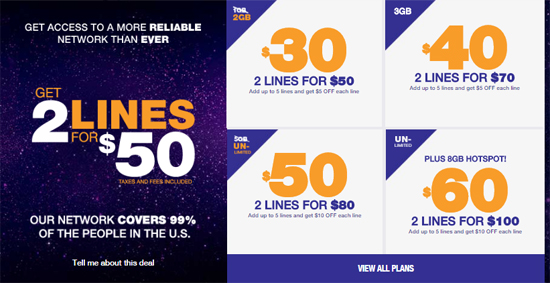 MetroPCS Increases Data on $30 Plan from 1GB to 2GB, Offers 2 Lines for $50