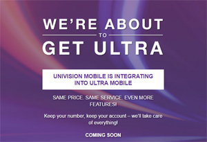 Ultra Mobile Adds New Ultra Flex Plans, Univision Mobile Shuts Down In July