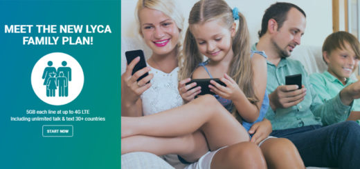 Lycamobile Adds New Family Plan and Unlimited 4G LTE Data to $55 Plan
