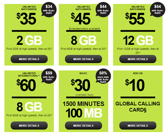 Straight Talk Plans Receive More Data and New $35/2GB Option