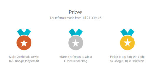 Project Fi Referral Program Offers New Prizes Including Trip to Google HQ