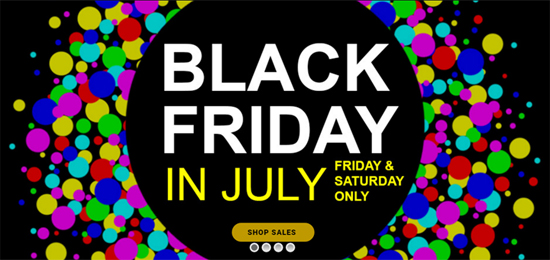 Selectel Discounts Phones on Friday and Saturday Only during Black Friday in July