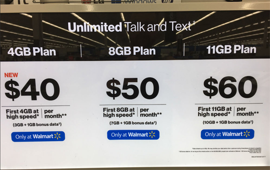Verizon Prepaid Walmart Promotion Now Offers 1GB of Bonus Data Instead of 2GB