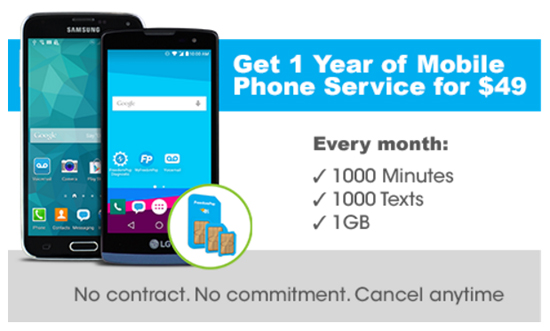 New FreedomPop Plan for $49 a Year offers 1000 Texts, 1000 Minutes and 1GB Data Every Month