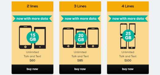 Total Wireless Increases Shared Data on Family Plans, Page Plus Offers Unlimited 4G LTE Data on $69.95 Plan
