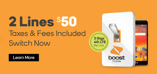 new family plan promotions from boost mobile and h2o wireless