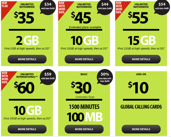 Straight Talk Increases Data on $45 and $60 Plans to 10GB