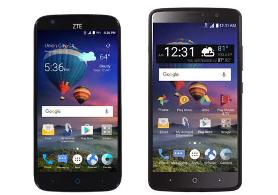 Straight Talk ZTE ZMAX Champ and ZTE MAX Blue Available Now