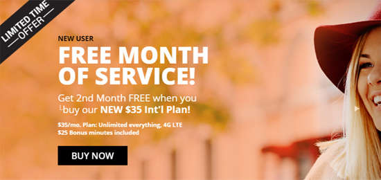 Mango Mobile Offers Free Month of Service with Purchase of a New $35 International Plan