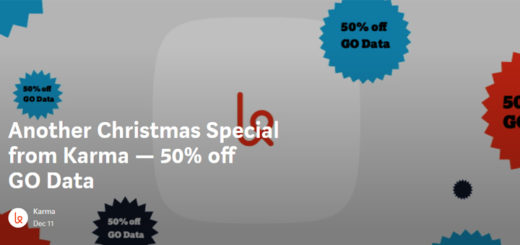Karma Christmas Special Offers 50% Off GO Data, 25% Off 5GB Plan For 3 Months