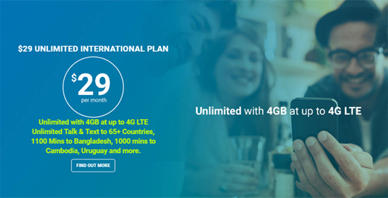 Lycamobile Increases Data on $29 Plan from 1GB to 4GB