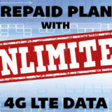 Prepaid Plans with Unlimited 4G LTE Data